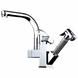 $enCountryForm.capitalKeyWord Australia - Houmaid Bathroom Basin Rotatable Faucet Mixer Faucets Kitchen Pull Out Deck Mounted Faucets Shower Room Single handle Tap
