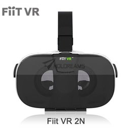 virtual reality 3d video glasses 2019 - Fiit VR 2N 3D Glasses VR Box Virtual Reality Headset vrbox 120 FOV Video Google Glass Cardboard Helmet For Phone 4-6' +