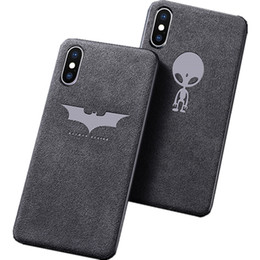 $enCountryForm.capitalKeyWord UK - Luxury Velvet Leather Full Cover Phone Case Cover for iphone X XS XR Samsung S9 note 9 back cover