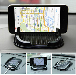 $enCountryForm.capitalKeyWord Australia - Black Car Dashboard Sticky Pad Mat Anti Non Slip Gadget Mobile Phone GPS Holder Interior Items Accessories