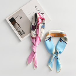 S Scarf NZ - Hot sale girl 's little scarf New 2018 Women's Summer Spring Shawl autumn Scarf pattern Travel Wrap Free shiiping