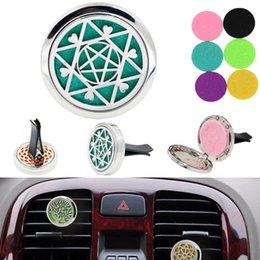 Bright Interior Round Ornament Gift Reusable Air Freshener Mini Decoration Accessories Alloy Fragrance Home Car Perfume Black Diffuse Automobiles & Motorcycles