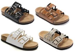 $enCountryForm.capitalKeyWord Canada - Man and woman Flip Flops Soft Cork Sandals Male Slides Fashion Summer Style Clip-toe Buckle Strap Flats Casual Beach Sandals Shoes