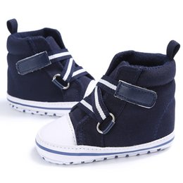 $enCountryForm.capitalKeyWord Canada - Baby Boys Girls Spring Autumn Canvas Shoes Cross Strap High heel Non-slip Sneaker
