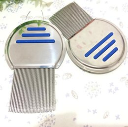 $enCountryForm.capitalKeyWord Canada - Pet comb dog remover flea Lice Clean comb Stainless steel thread comb Dog Grooming Brush Dog Supplies