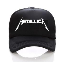 2c4b58732fc Metallica cap Men Women Skull Printing Heavy Metal Rock baseball cap Rock  Band Men women snapback hats