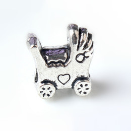 baby charms pandora bracelets Australia - Fashion Charms Jewelry Findings And Components Baby Car Alloy Loose Bead For Pandora Bracelet Bangle European Style