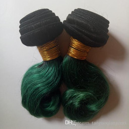 $enCountryForm.capitalKeyWord NZ - Brazilian Virgin Hair weft Body Wave good ratio full and thick healthy end Omber 8-12inch Short Bob Style Indian hair extensions 1B green