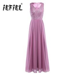 women formal tutu dress UK - omen's Clothing Dresses iEFiEL Women Ladies Embroidered Sleeveless Summer Tutu Long Party Dress Evening Formal Communion Prom Gown Dress ...