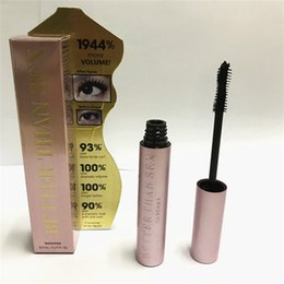 China In stock! Top qualtity! Volume Rose gold Better Than sex Mascara Cool Black Waterproof long lasting free ship suppliers
