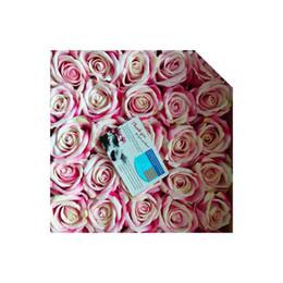 $enCountryForm.capitalKeyWord UK - Handmade Artificial Silk Flowers Rose Flower Ball Decoration Wedding Birthday Party or valentine day 30pcs bag