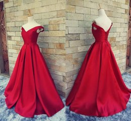 $enCountryForm.capitalKeyWord NZ - Real Photos off shulder formal evening dresses lace up back ruched satin a line prom gowns