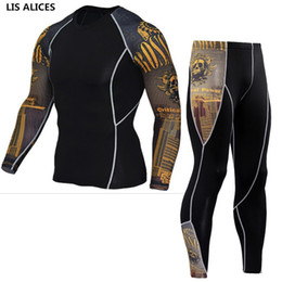 Wholesale mens thermal long johns set for sale - Group buy LIS ALICES New Winter Thermal Underwear Set Men Brand Anti microbial Stretch Mens Autumn Thermo Underwear Female Warm Long Johns