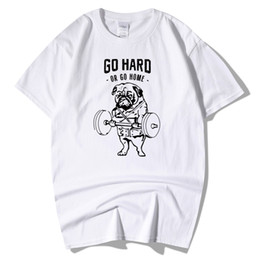 floral printed tshirt men 2019 - Men's Fashion T Shirt Short Sleeve GO HARD DR GO HOME Cotton 3d Printing Tshirt Homme Fitness Tops Summer Style T-s