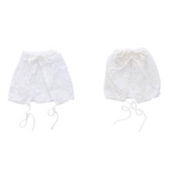 Discount toddler girls bonnets - Durable Newborn Baby Girls Toddler Infant Lace Bonnet Beanie Hat Cap Photography Props Drop Ship