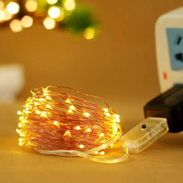 $enCountryForm.capitalKeyWord NZ - Usb Lamp String Copper Wire Christmas Lights New Pattern Eight Function Market Bedroom Decoration Coloured Lights