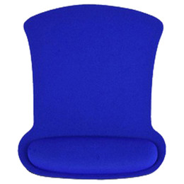 Discount computer wrist support pads - Professional Wrist Rest Support Mouse Mat Gaming Mice Pad for PC Laptop Computer blue 24*19cm
