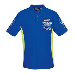 9f46dd5ab206f Envío gratis 2018 MOTO GP Andrea Iannone 29 para el equipo ecstar Mens Polo  Shirt Motor Sport Blue   Green
