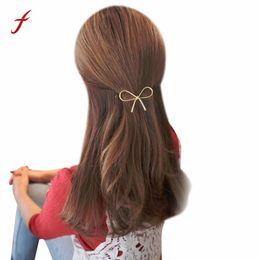 $enCountryForm.capitalKeyWord UK - Hairpin 2018 Metal Big Elastic Women Geometric Openwork Butterfly Hair Clips Headdress Hair Bow Accessories Wholesale