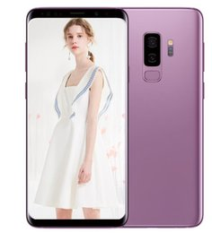 Unlocked 3g Wifi Smartphones Canada - Goophone S8 S8+ android 7.0 unlocked fingerprint smartphones shown 4G LTE 4G RAM 256G ROM MTK6753 6.1inch 3G Cell phones