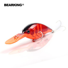 $enCountryForm.capitalKeyWord NZ - Bearking hot model, A+ fishing lure crank 64mm 16g 6colors for choose dive 2.5-3.2m. fishing tackle hard baitY1883010