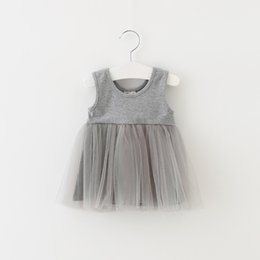 $enCountryForm.capitalKeyWord NZ - Kids Birthday Dress Sleeveless Newborn Baby Girl Dress Casual Infant Clothings For Wedding Party Princess Vestidos