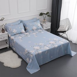 $enCountryForm.capitalKeyWord NZ - cotton printing Bedding Flat Sheet Bed Linens Single   double Bedsheets Home Textile Twin Full Queen size bed sheet