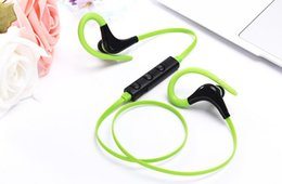 iphone stereo player NZ - New Bluetooth Headphones Sport Wireless Headset Hook Stereo Music Player Neckband Earphones Jogging Headphones For Iphone 7 With Retail Box