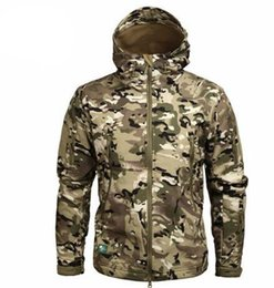 Chinese  Fashion Clothing Autumn Men 'S Military Camouflage Fleece Jacket Army Tactical Clothing Multicam Male Camouflage Windbreakers New Male manufacturers