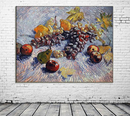 life size pictures Australia - ZYXIAO Large Size Oil Painting Pop Art fruit grape apple pear Home Decor on Canvas Modern Wall Art No Frame Print Poster picture ys0198
