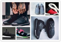 4abdf238f New Casual Shoes Y-3 QASA RACER Hight SnEakers Breathable Men Women Casual  Shoes Couples Y3 Shoes Size Eur36-45