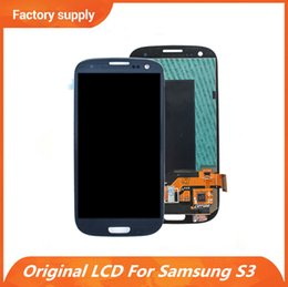 SamSung i535 lcd online shopping - Original LCD Display For Samsung Galaxy S3 i9300 i747 T999 i535 R530 L710 LCD Panel Touch Screen Digitizer Assembly Replacement