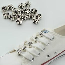 Alloy Shoes NZ - 10 pcs Women Shoes Decoration Multi-size Alloy Shoelaces Clips DIY Shoe Buckle Gifts Lovely Shoes Accessories