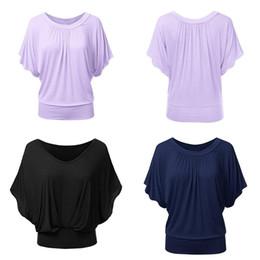 Fold Jacket NZ - Ladies dress summer loose short sleeves casual neck fold collar folding collar Bian shirt jacket leisure semi sleeve new style
