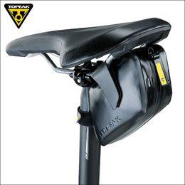 Magic Handle NZ - Topeak TC2293B Waterproof DynaWedge Bike Seatpost Bag Strap Mount Saddle Bicycle Bag with Magic Strap Buckles Bike Pannier