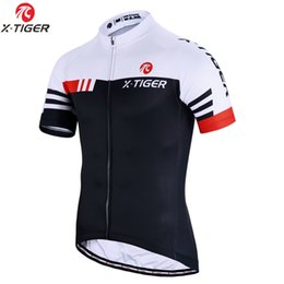 b724b7354 X-TIGER 2018 Summer Short Sleeve Pro Cycling Jersey Mountain Bicycle  Clothing Maillot Ropa Ciclismo Racing Bike Clothes Jerseys