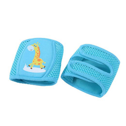 Chinese  Baby Knee Pads Leg Protect Infant Toddlers Crawling Elbow Cushion Kids Breathable Mesh Kneepads Safe Leg Warmer manufacturers