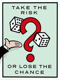 Unframed / Alec Monopoly Take the Risk