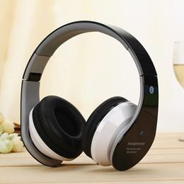 Wireless B Headphones Canada - B-01 Mp3 Stereo Wireless Bluetooth Earphones Stereo Headphones Headband Headset Bass Card Sports Music DJ FM Radio