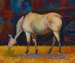 $enCountryForm.capitalKeyWord Australia - YOUME ART Giclee Animal the urge to merge buckskin oil painting arts and canvas wall decoration art Oil Painting on Canvas 60X76cm