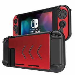 game joy 2018 - NS Accessories Alloy Case Cover Game Console Joy-Con Joystick Case Protector for Nintend Switch Console & Controller Pro