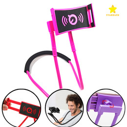 $enCountryForm.capitalKeyWord Australia - Necklace Cellphone Support Holder Mounts Selfie Stick Stand Holder Tablet for iPhone 8 7 Plus Samsung S8