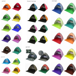 OutdOOr tents fOr camping online shopping - 32 Colors Outdoor Quick Automatic Opening Tents Pop Up Beach Tent Tent Camping Tents For Persons Household Sundries AAA525