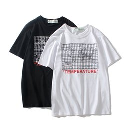 70befe78367 New Fashion Off map printing Couples Lovers pure cotton T-shirt Short  Sleeve Men women Hip Hop Street Style ow Tees Shirt