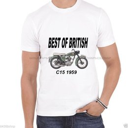 gifts british 2018 - Details zu BEST OF BRITISH BSA 1959 C15, BIKER ENTHUSIAST QUALITY T SHIRT Funny free shipping Unisex Casual tee gift dis