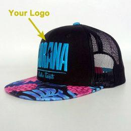 9855221e777 flat visor ladies 3D printing sizable custommade trucker hat snapback  closer custom baseball style custom cap with mesh on the back