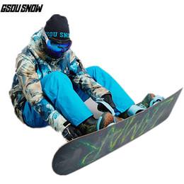 f5bc4d21ab Ski Clothing Brands Australia - GSOU SNOW Brand Ski Suit Men Ski Jackets  Snowboard Pants Winter