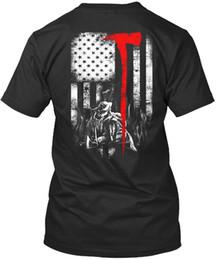 5eb893d625ba Premium tee shirts online shopping - Firefighter Flag For Fireman Premium Tee  T Shirt
