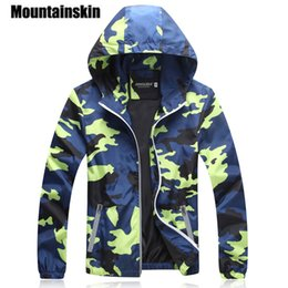 Fashion military jacket online shopping - Mountainskin Camouflage Jackets Men S Coats Spring Summer Casual Camo Male Jackets Army Military Men Outerwear Slim Sa215