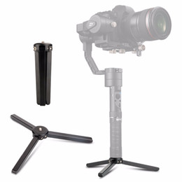 tripod stand for mobile 2019 - Portable folding Tripod Stabilizer Photography stand For DJI osmo+   Osmo Mobile   Osmo 2 Handheld Gimbal camera accesso
